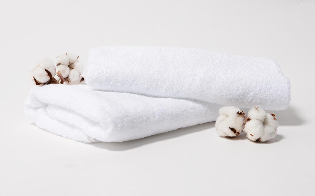 バスタオルと棉花